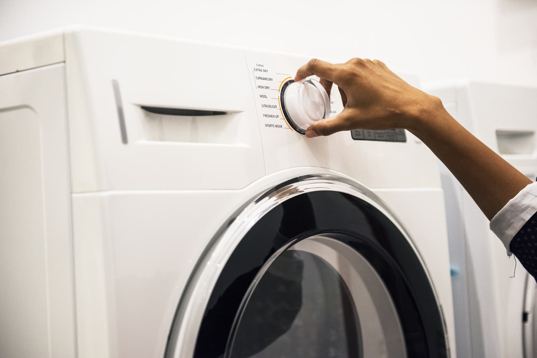 Vaskemaskinen i 63 er i udu